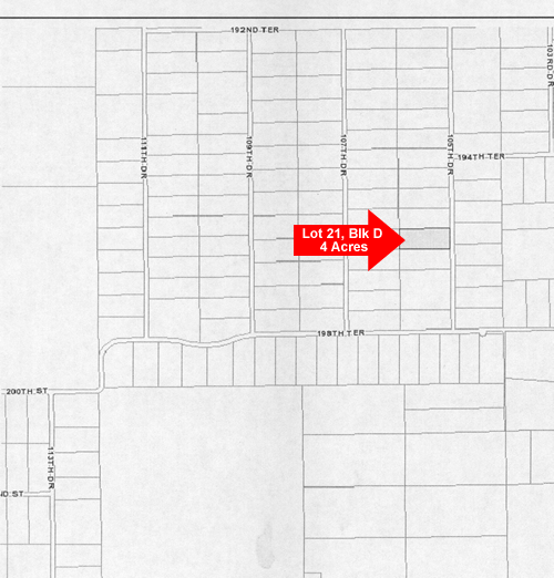 4 acres in Suwannee County, Florida
