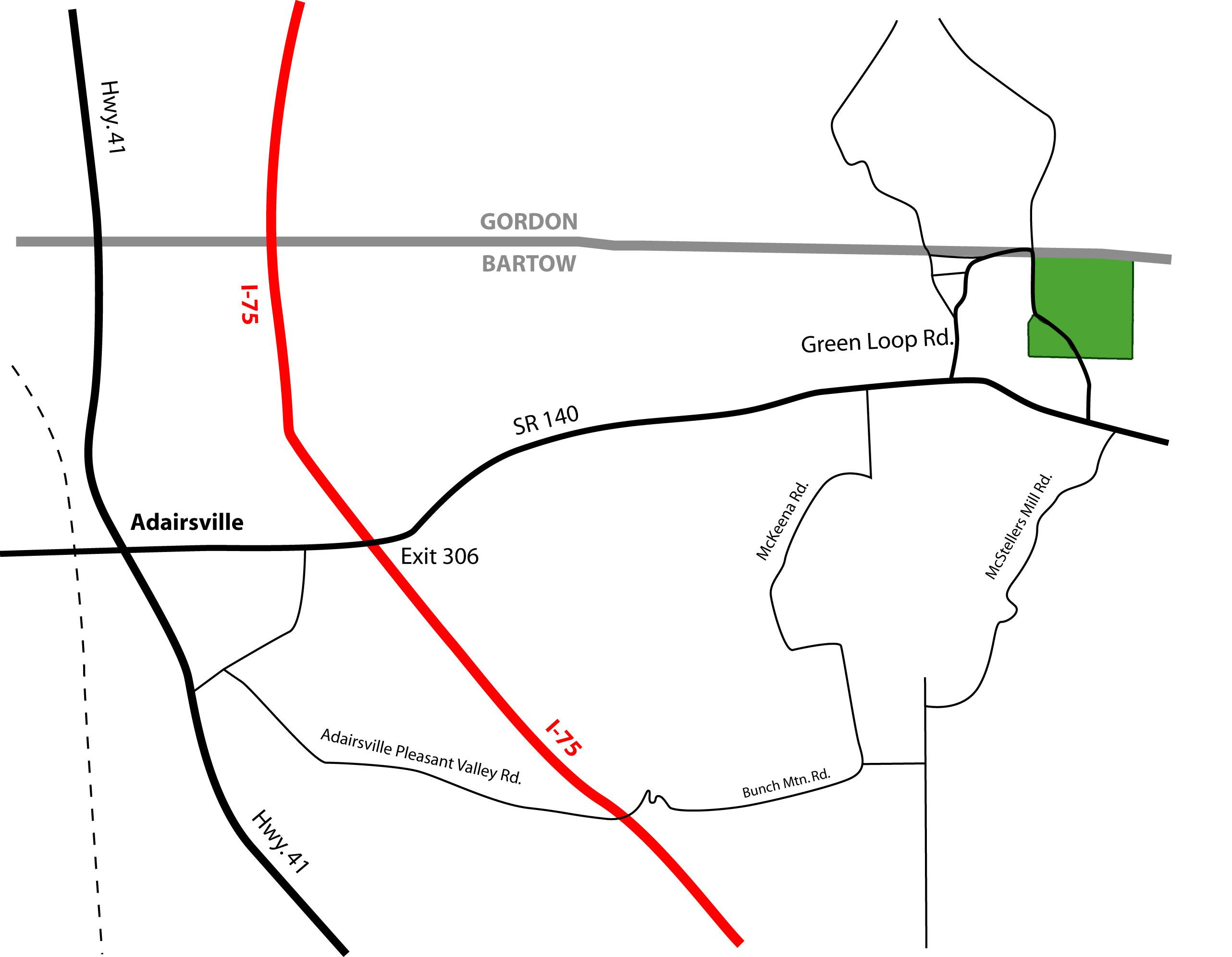 19 Acres In Bartow County Georgia
