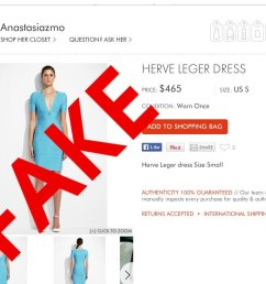 fake designer goods being sold as authentic at resale sites [ 1340 x 662 Pixel ]