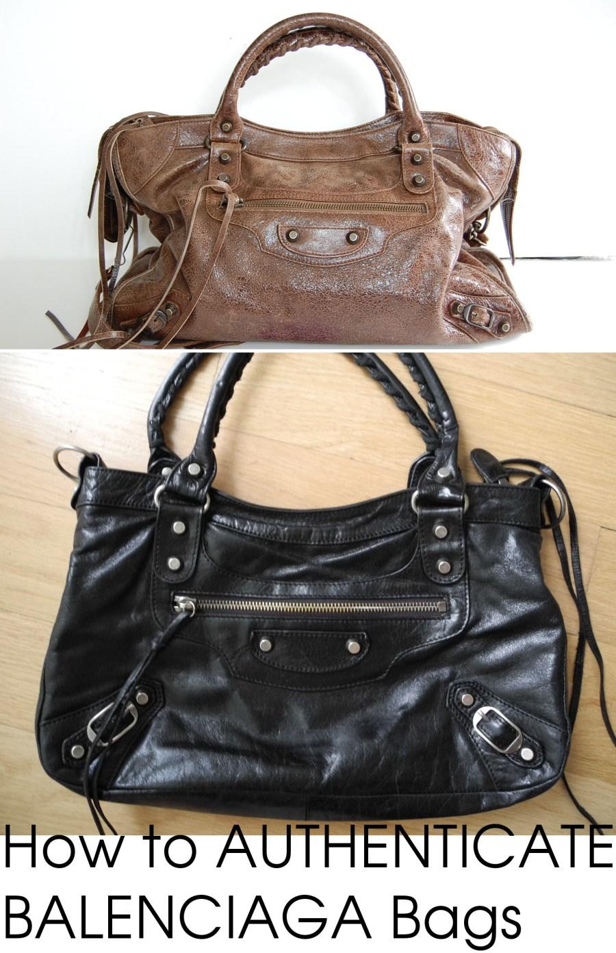 Easy Louis Vuitton Bag Authentication Guide Lollipuff >> Authenticate Balenciaga Handbags Closet Full Of Cash