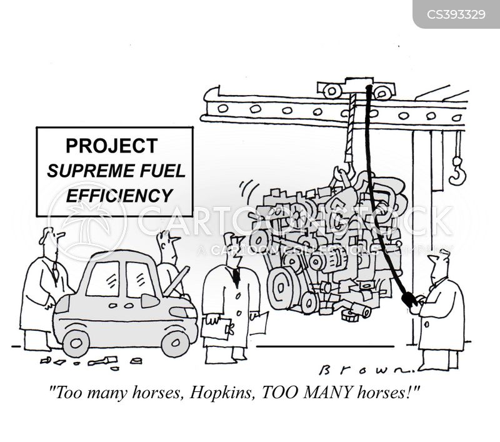 Efficiency News and Political Cartoons
