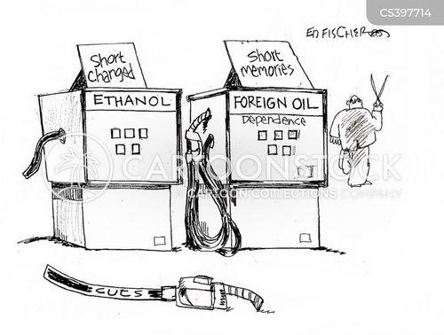 Green Fuels News and Political Cartoons
