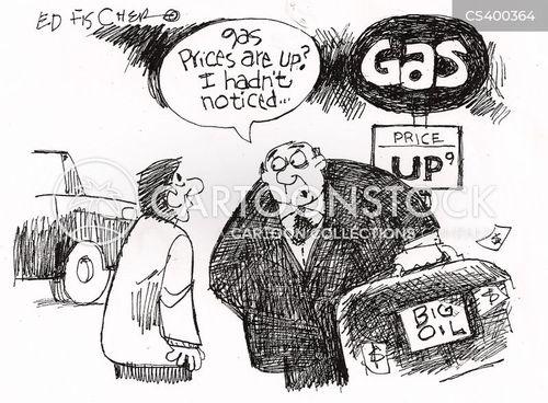 Rising Price News and Political Cartoons