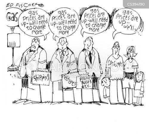 Oil Company Profits News and Political Cartoons