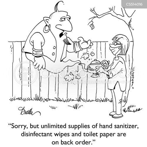 Germs News and Political Cartoons