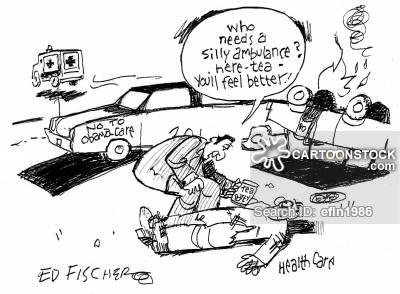 Ambulance News and Political Cartoons