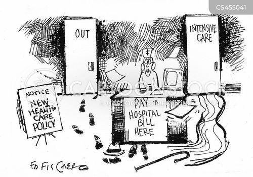 Nurse News and Political Cartoons