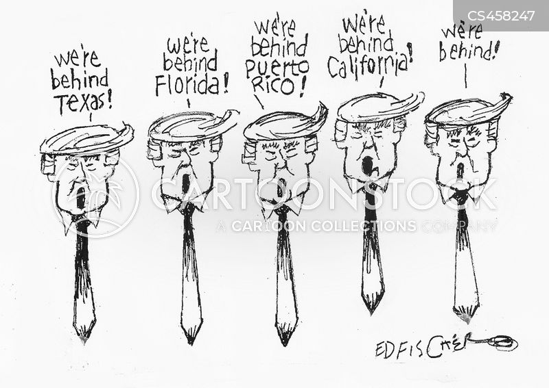 Hurricane News and Political Cartoons