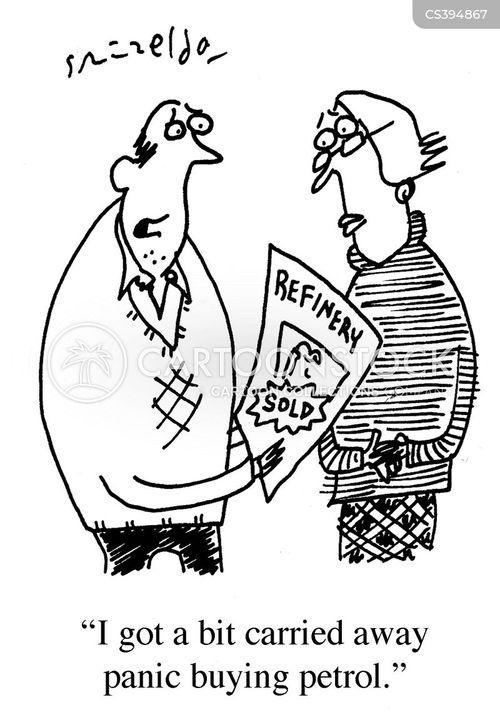Peak Oil News and Political Cartoons