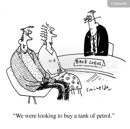 Bank Loan News and Political Cartoons