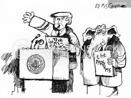 Ignoring News and Political Cartoons