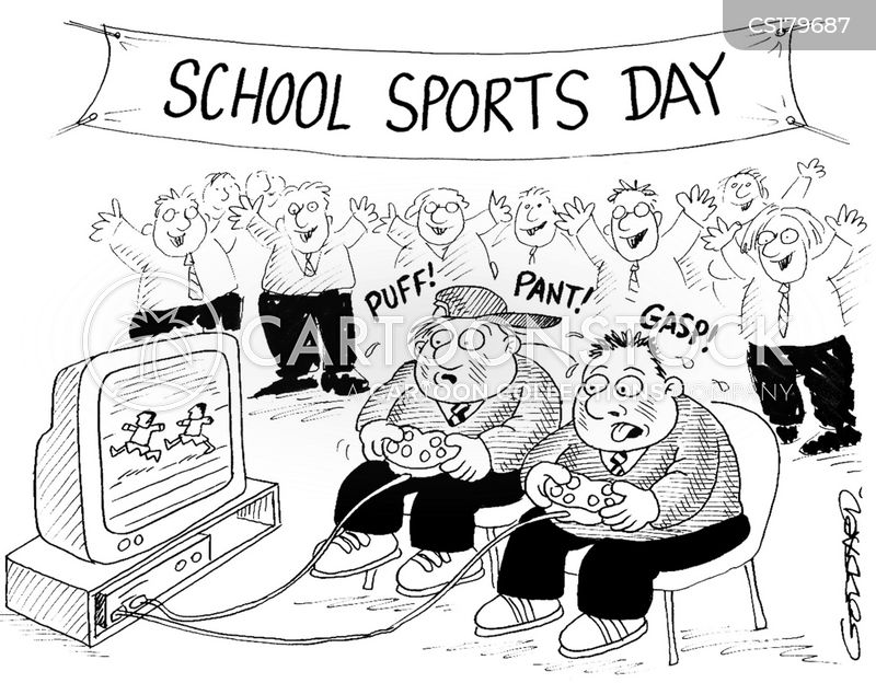 Sports Day News and Political Cartoons