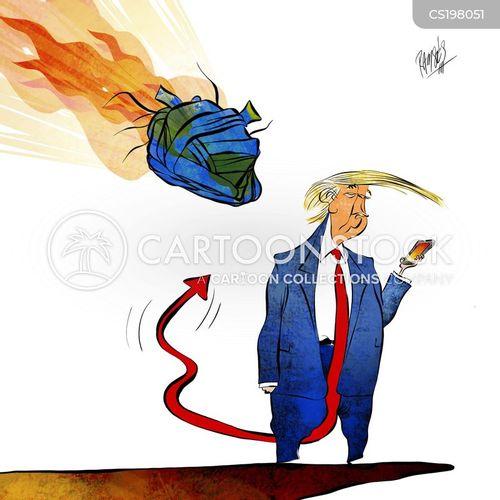 Social Media And Political Cartoons
