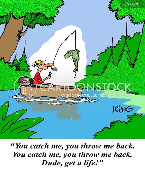 Funny Fishing Cartoons : funny, fishing, cartoons, Fishing, Cartoons, Comics, Funny, Pictures, CartoonStock