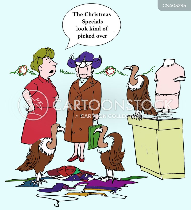 Christmas Sales Cartoons And Comics Funny Pictures From