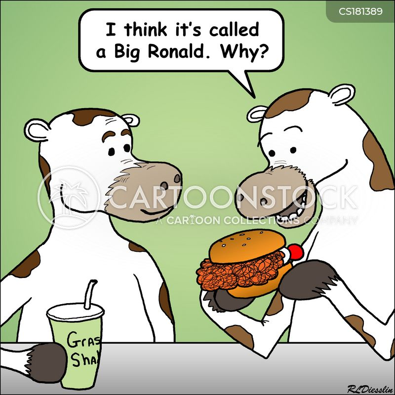 Fast Food Chain Cartoons And Comics Funny Pictures From