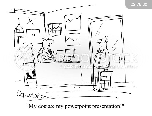 Cartoons und Karikaturen mit Powerpoint