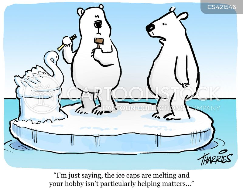 Melting Ice Cap Cartoons And Comics Funny Pictures From