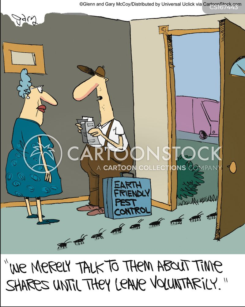 Pest Control Cartoons And Comics Funny Pictures From