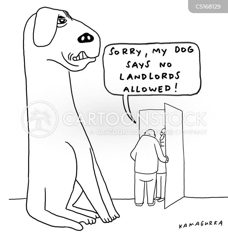 Tenancy Agreement Cartoons and Comics - funny pictures from CartoonStock