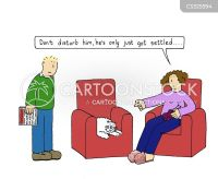 Comfy Chair Cartoons and Comics - funny pictures from ...
