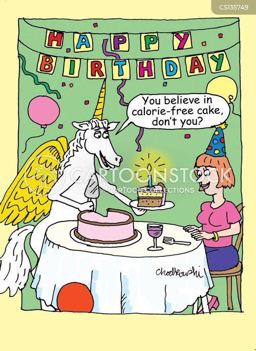 Far Side Birthday Wishes : birthday, wishes, Birthday, Wishes, Cartoons, Comics, Funny, Pictures, CartoonStock