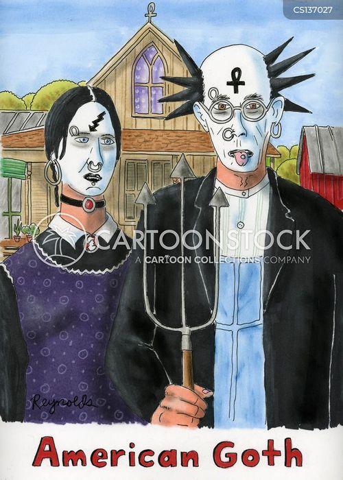 Goth Cartoons And Comics - Funny Cartoonstock