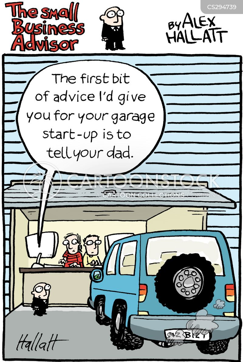 Small Business Advice Cartoons and Comics  funny pictures from CartoonStock