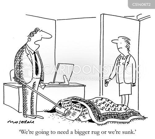 Rug Cartoons and Comics