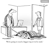 Rug Cartoons and Comics - funny pictures from CartoonStock