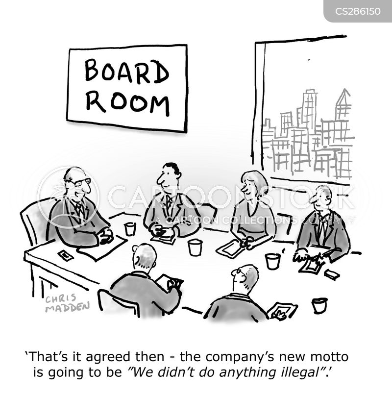 Corporate Ethic Cartoons and Comics  funny pictures from