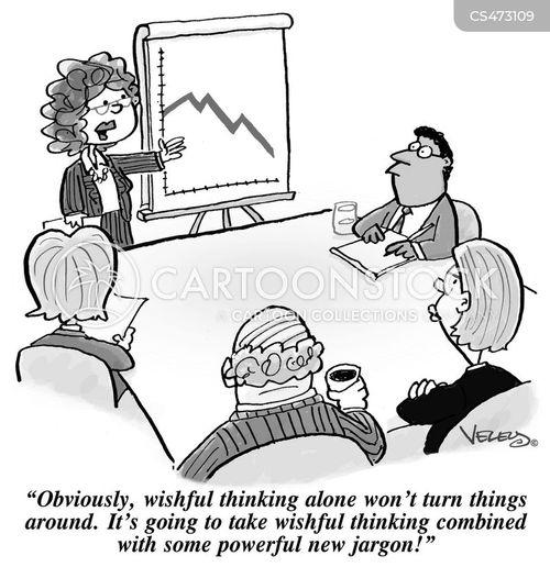 Cartoon – Wishful Thinking and Some Powerful New Jargon | HENRY KOTULA