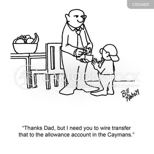 wiring money to an international bank account