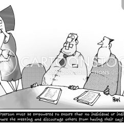 What Is A Chairperson In Meeting Pink Accent Chairs Cartoons And Comics Funny Pictures From Cartoonstock Cartoon 2 Of 25