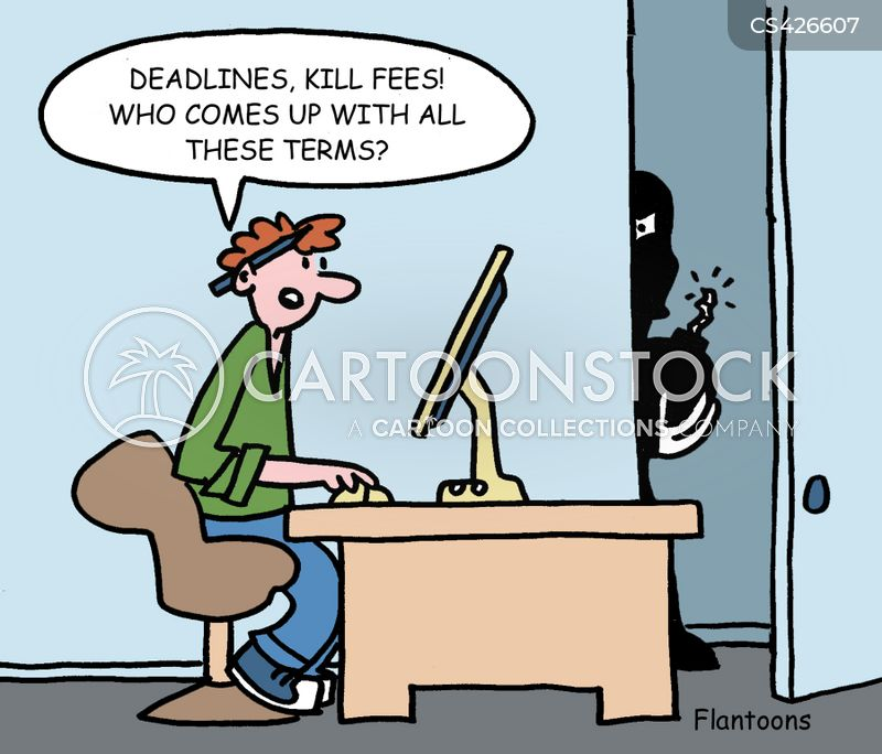 Kill Fee Cartoons and Comics  funny pictures from