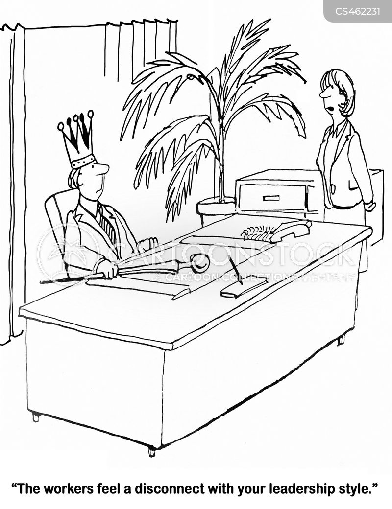 Funny Videos On Leadership Styles : funny, videos, leadership, styles, Leadership, Style, Cartoons, Comics, Funny, Pictures, CartoonStock