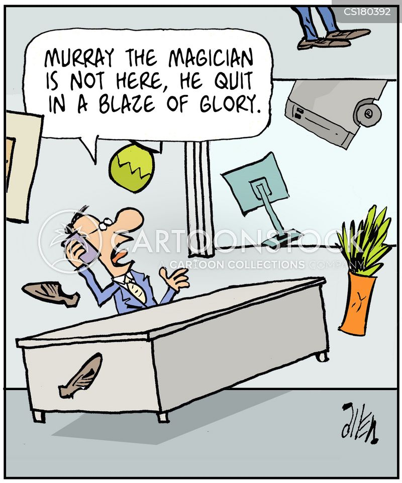 Resignation Letter Cartoons and Comics - funny pictures from ...