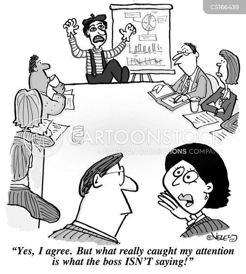 Cartoons Und Karikaturen Mit Besprechungen