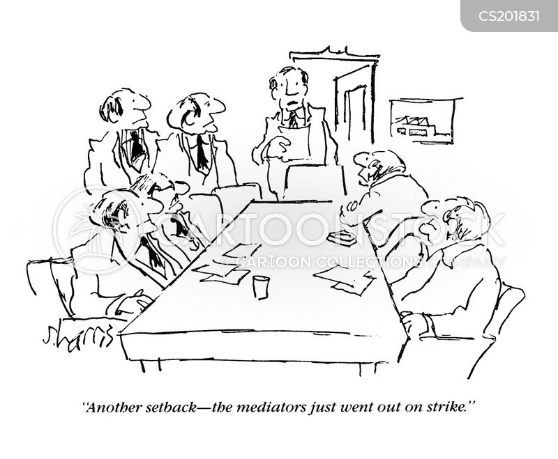 Mediator Cartoons and Comics  funny pictures from