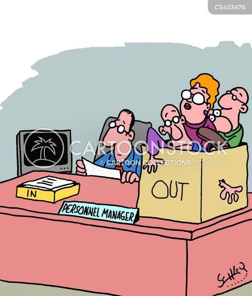 Personnel Management Cartoons And Comics - Funny