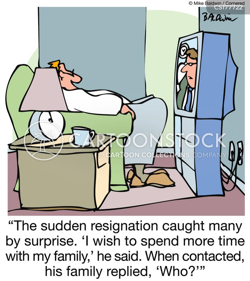Resign Cartoons and Comics - funny pictures from CartoonStock