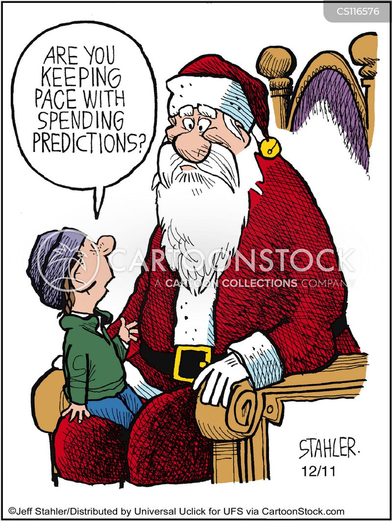 Father Christmas Cartoon Images : father, christmas, cartoon, images, Father, Christmas, Cartoons, Comics, Funny, Pictures, CartoonStock