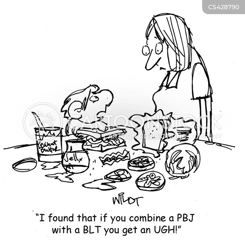 pbj cartoons and comics