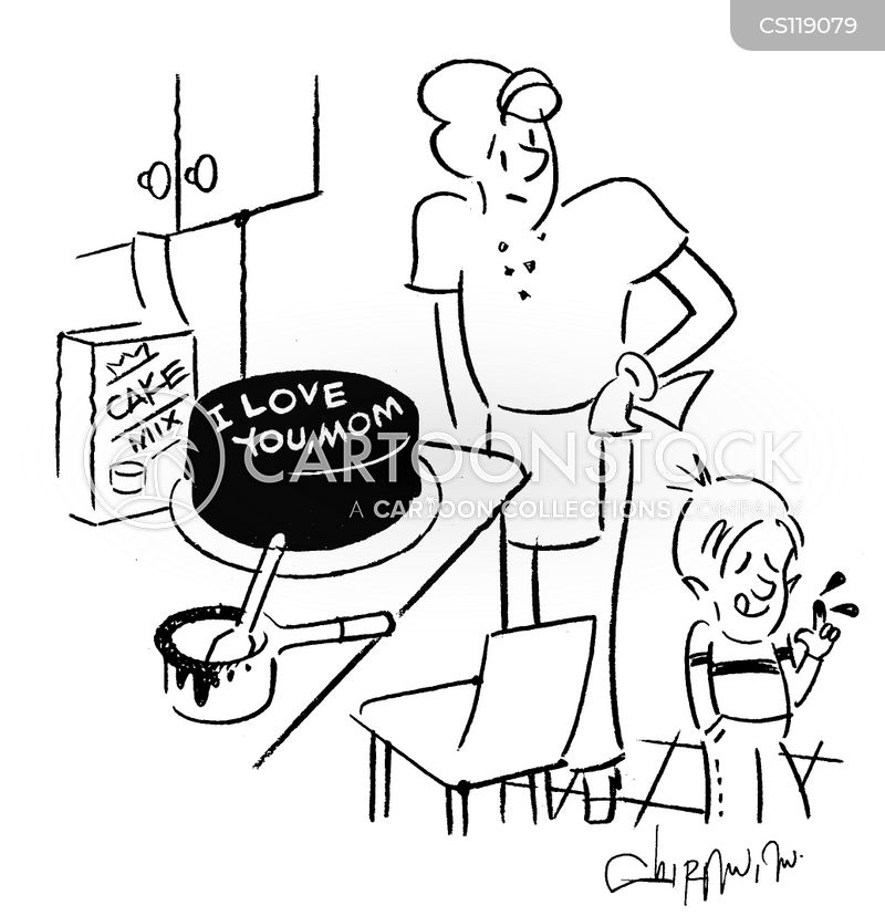 Baking A Cake Cartoons And Comics Funny Pictures From