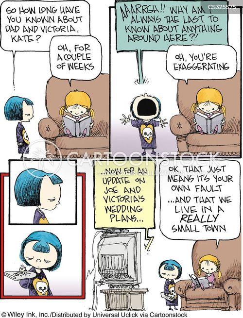 Stepmom Cartoon : stepmom, cartoon, Stepmother, Cartoons, Comics, Funny, Pictures, CartoonStock