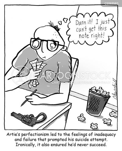 Image result for perfectionist cartoon