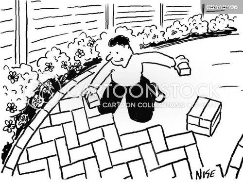 paving stone cartoons and comics