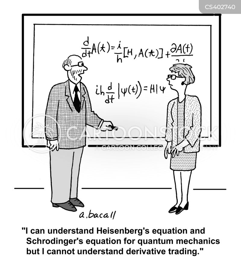 Quantum Mechanics Cartoons and Comics  funny pictures