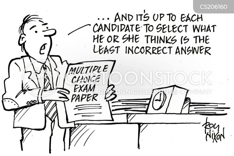 dse212 exam essay cartoon