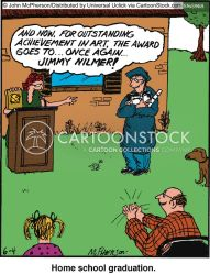 Home Schooling Cartoons and Comics funny pictures from CartoonStock